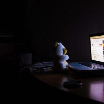 Mag het licht 's nachts uit op kantoor?
